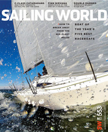 J/88 on Sailing World Jan/Feb album cover