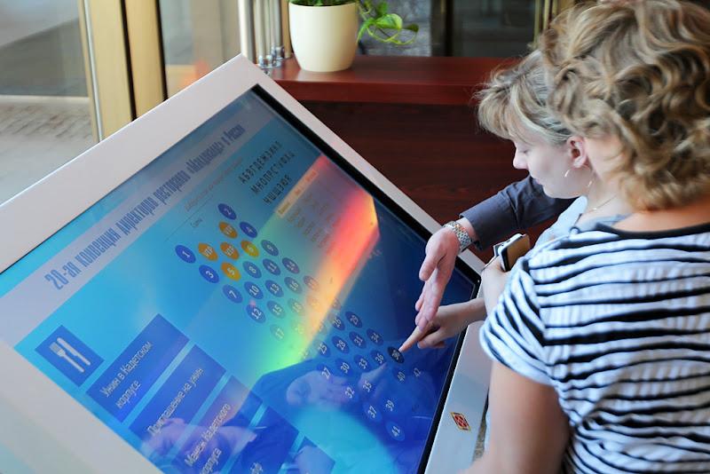 сенсорный интерактивный мультитач-стол