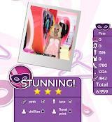 Fashion Party Dress Up Level 5 - Pink - Danielle - Stunning! Three Stars