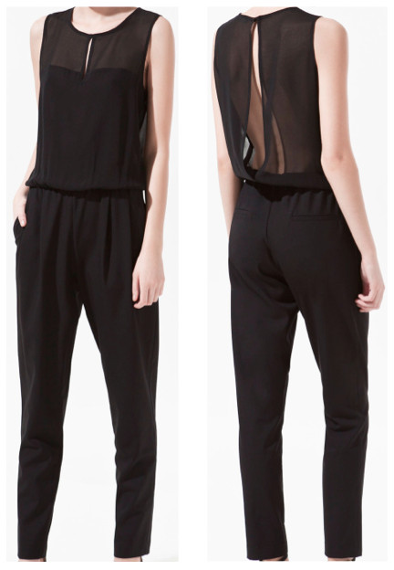5d4bb1d4a284 today i want... zara open back jumpsuit