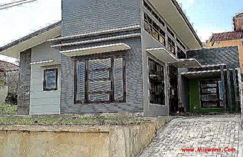 foto rumah dari depan gallery taman minimalis