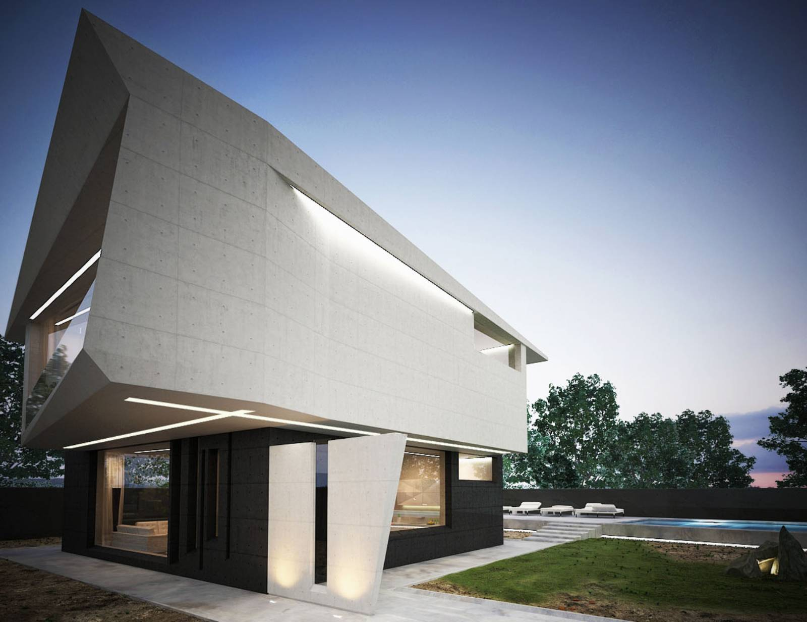 Sîngera, Moldavia: M House by Marcel Luchian Studio