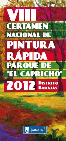 Certamen Nacional de Pintura Rápida Parque de El Capricho 2012