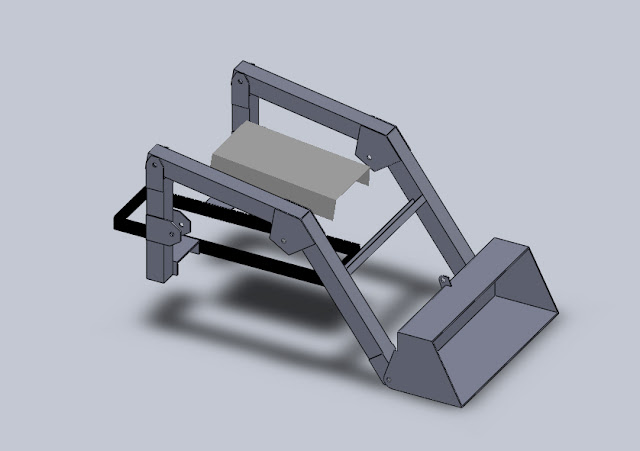 Design For A Homemade Front End Loader Fel My Tractor Forum