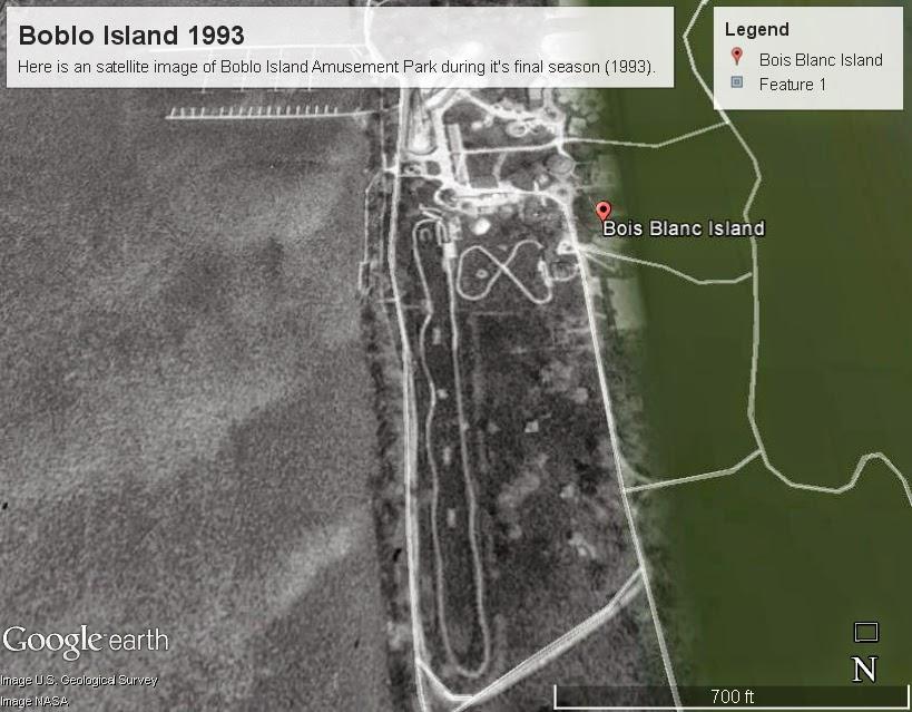 Boblo Island Google Map