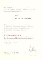 211c Verdienstmedaille der Organen des Ministeriums der Innern in Gold http://www.ddrmedailles.nl