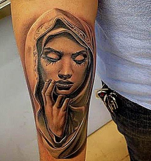 religious tattoo 2