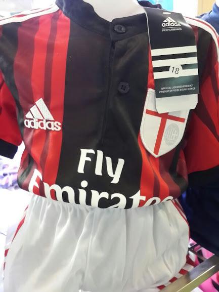 Jersey Kids AC Milan Home 2014-2015