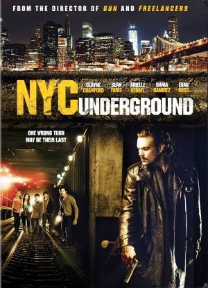 Filme Poster N.Y.C. Underground WEBRip XviD & RMVB Legendado