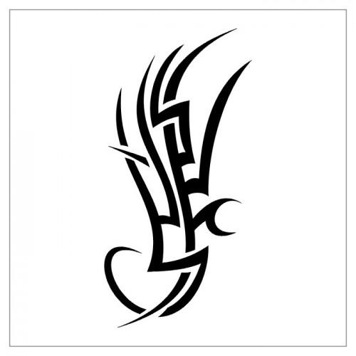 tribal tattoo pattern