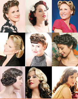 Pin Up Girl Hairstyles Ideas