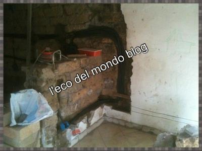 impianto elettrico della cucina in muratura, e andiamo di progresso in progresso!