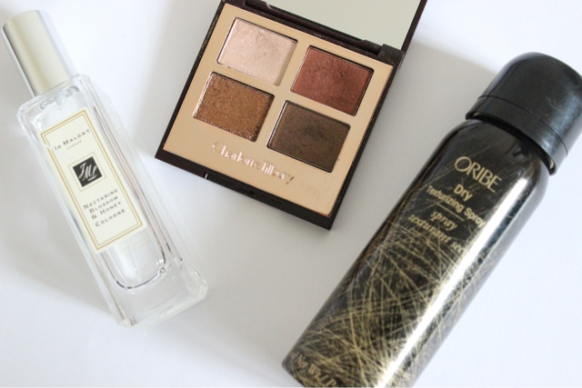Beauty Products Worth The Splurge: Jo Malone Cologne, Charlotte Tilbury Luxury Eyeshadow Palette and Oribe Dry Texturising Spray