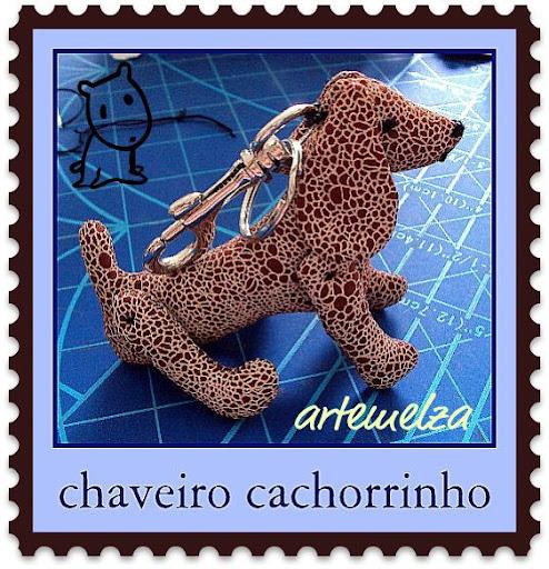 artemelza - chaveiro cachorrinho