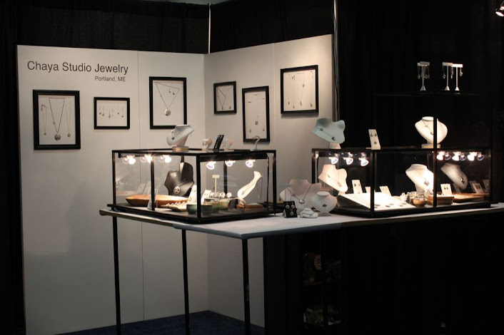 a jeweler's booth