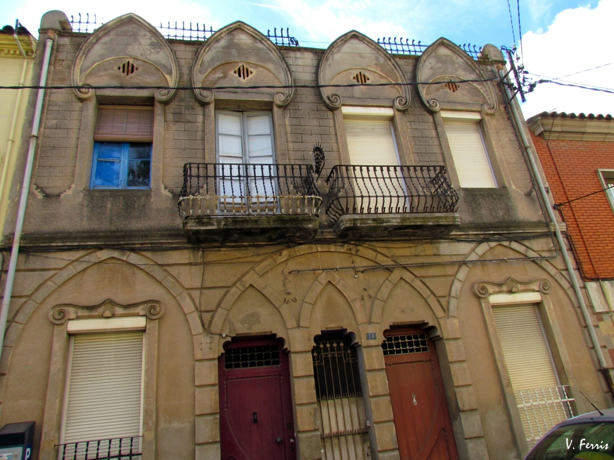 Casas costa barcelona modernista - Casa modernista barcelona ...