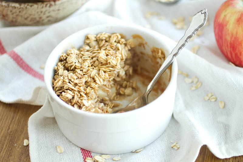 "Baked ""Apple Pie"" Oatmeal 
