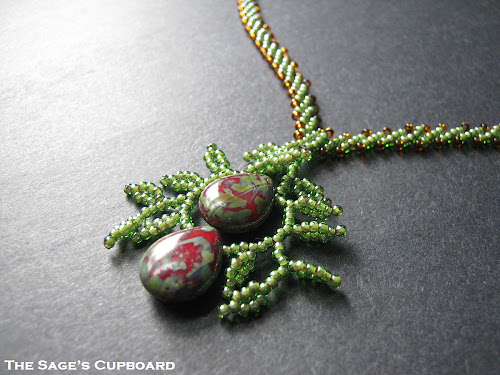 Olive Drop Pendant
