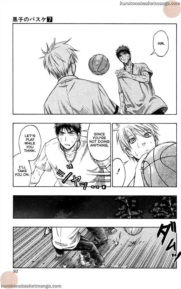 Kuroko no Basket Manga Chapter 57 - Image 600/5