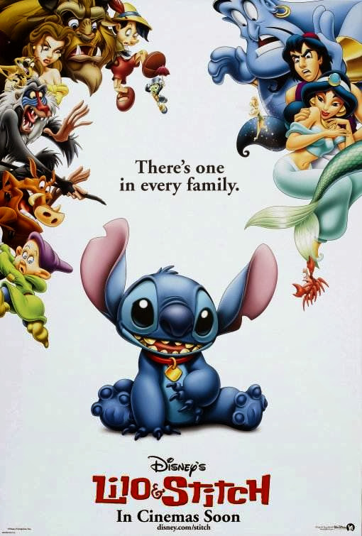 Poster Of Lilo & Stitch (2002) Full Movie Hindi Dubbed Free Download Watch Online At Alldownloads4u.Com