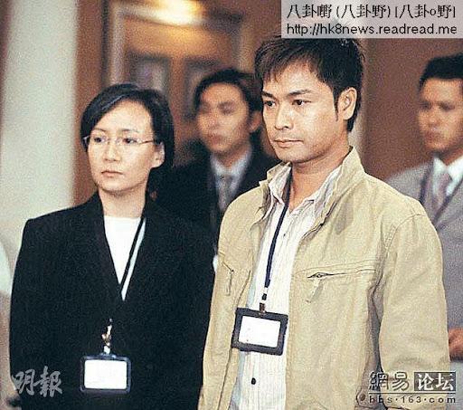 商天娥比郭晉安大兩年,但在《隔世追兇》中竟要演安仔媽咪。