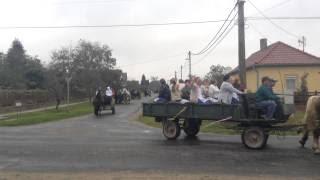 Szüreti felvonulás Jákóban 2014