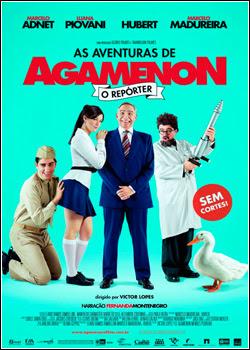Filme Poster As Aventuras de Agamenon, O Repórter TS XviD & RMVB Nacional