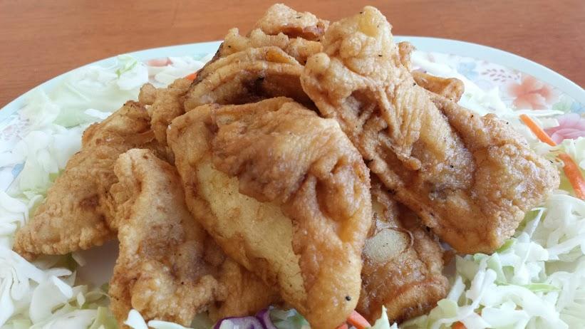 ปลาหมึกชุบแป้งทอด