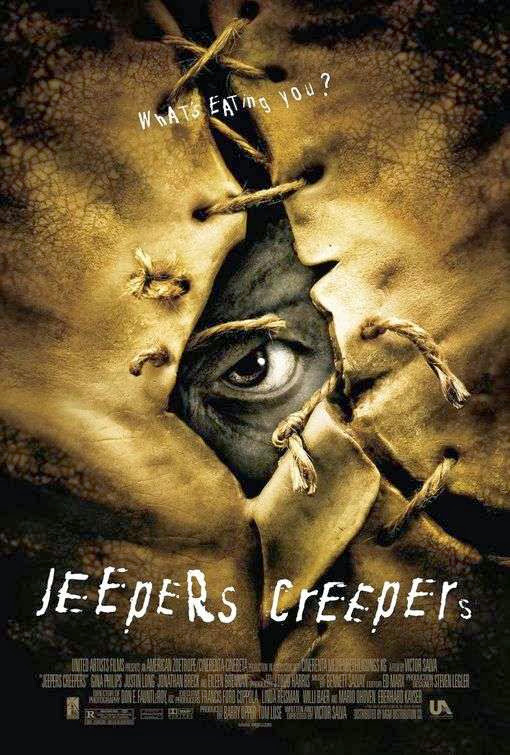 Poster Of Jeepers Creepers (2001) Full Movie Hindi Dubbed Free Download Watch Online At Alldownloads4u.Com
