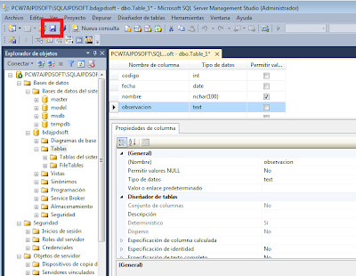 Administración SQL Server Express 2014 con SQL Server Management Studio 2014