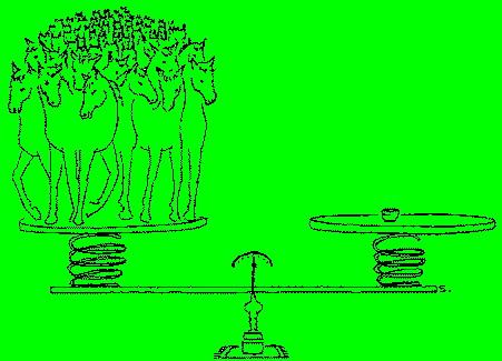 Chuyện tiền thân năm ngựa: Người ấn định giá cả