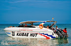 Kai Bae Hut speed boat picking up customers