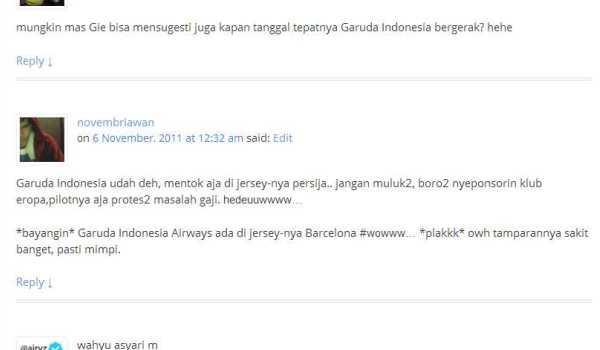 Fly Emirates Persija Jakarta