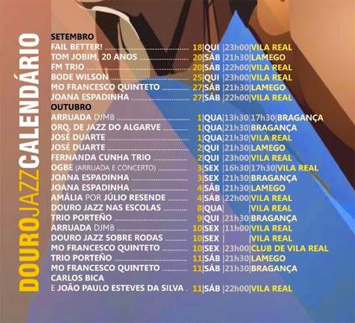 Jazz anima o Douro em época de vindimas