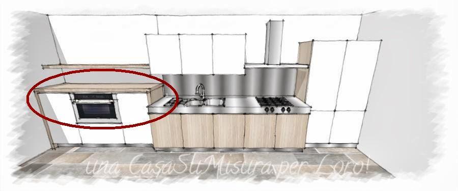 Una casasumisura per loro come progettare la cucina - Altezza top cucina ...