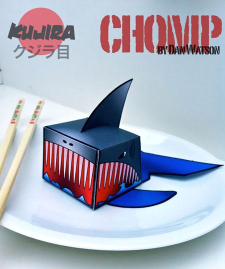 Kujira Chomp Paper Toy