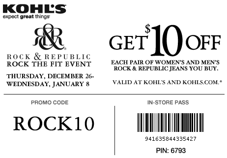 Rock and Republic Jeans Coupon Discount