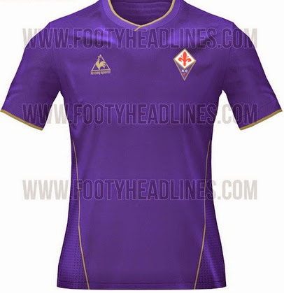 purple kits of Fiorentina