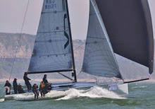 J/111 Munkenbeck sailing from England at Europeans