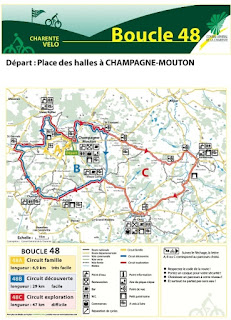 french village diaries cycling charente boucle 48