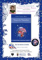 presentación de mi poemario 'Versos a la Naturaleza' en mi querida tierra, Melilla