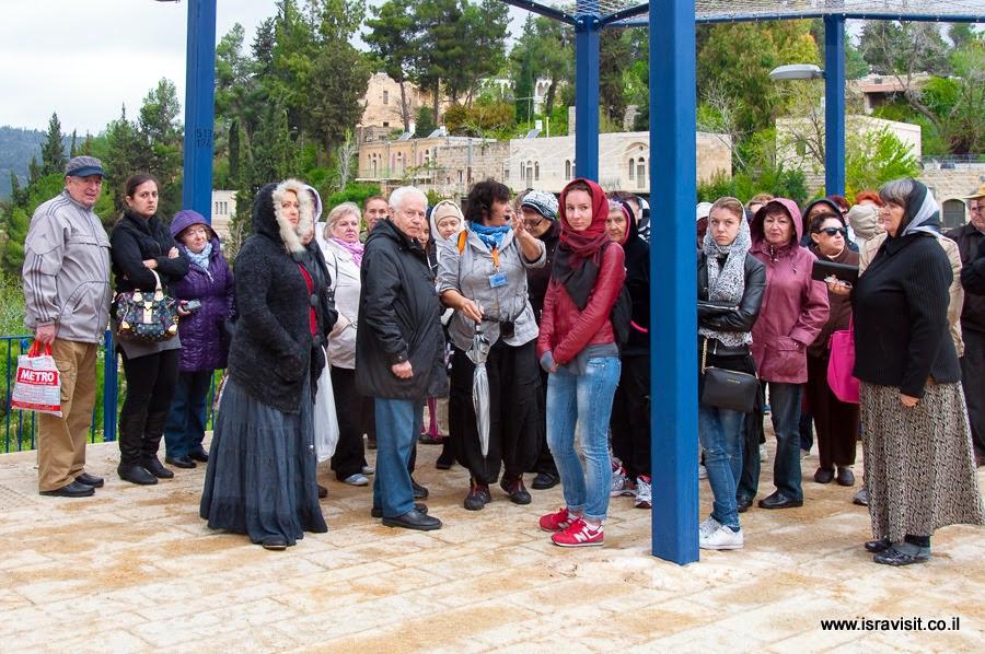 Гид в Эйн Карем Светлана Фиалкова. Экскурсия в монастыри в Иудейских горах.