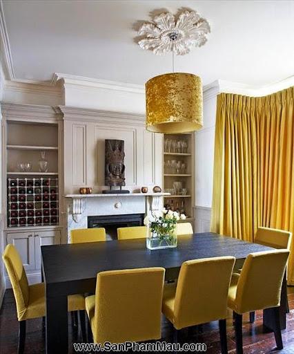 Thi công nội thất gỗ: Trang trí nhà từ đơn giản đến cá tính với gam màu vàng-3