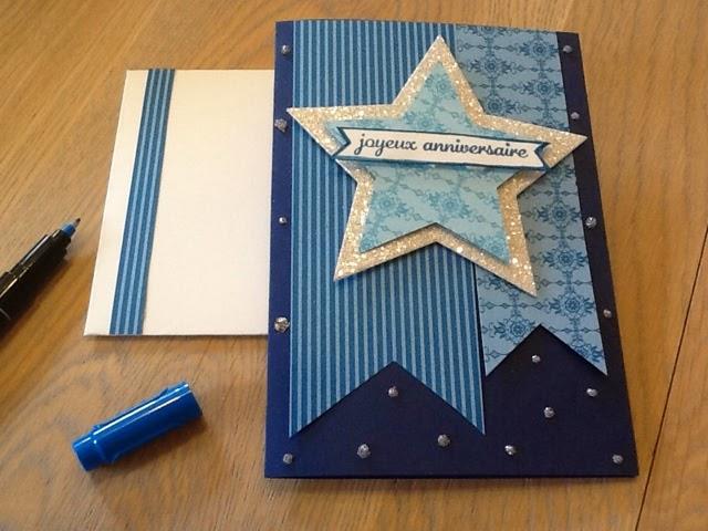 ancolies favorite scrap carte d 39 anniversaire homme scrap stars. Black Bedroom Furniture Sets. Home Design Ideas