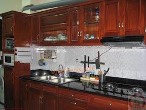 Tủ bếp gỗ tự nhiên BESM0119