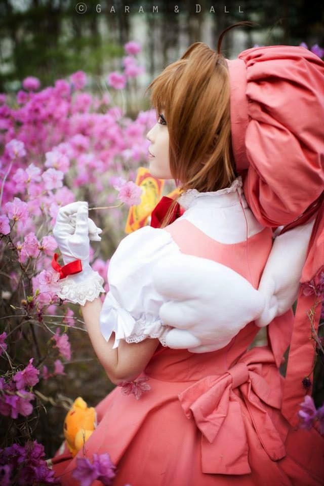 Tomia cực dễ thương với cosplay Sakura - Ảnh 3
