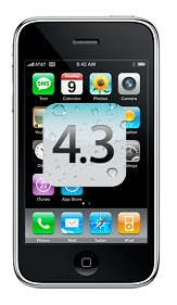 Download iOS 4.3 For iPhone 2G,iPhone 3G And iPod 2G Now