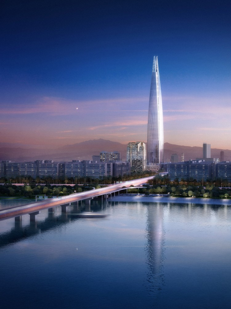 Lotte World Tower  design by KPF