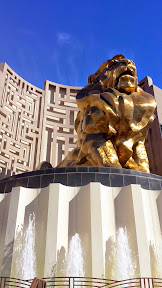 MGM Grand in Las Vegas - lion