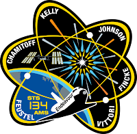 Endeavour sts-134 mission patch